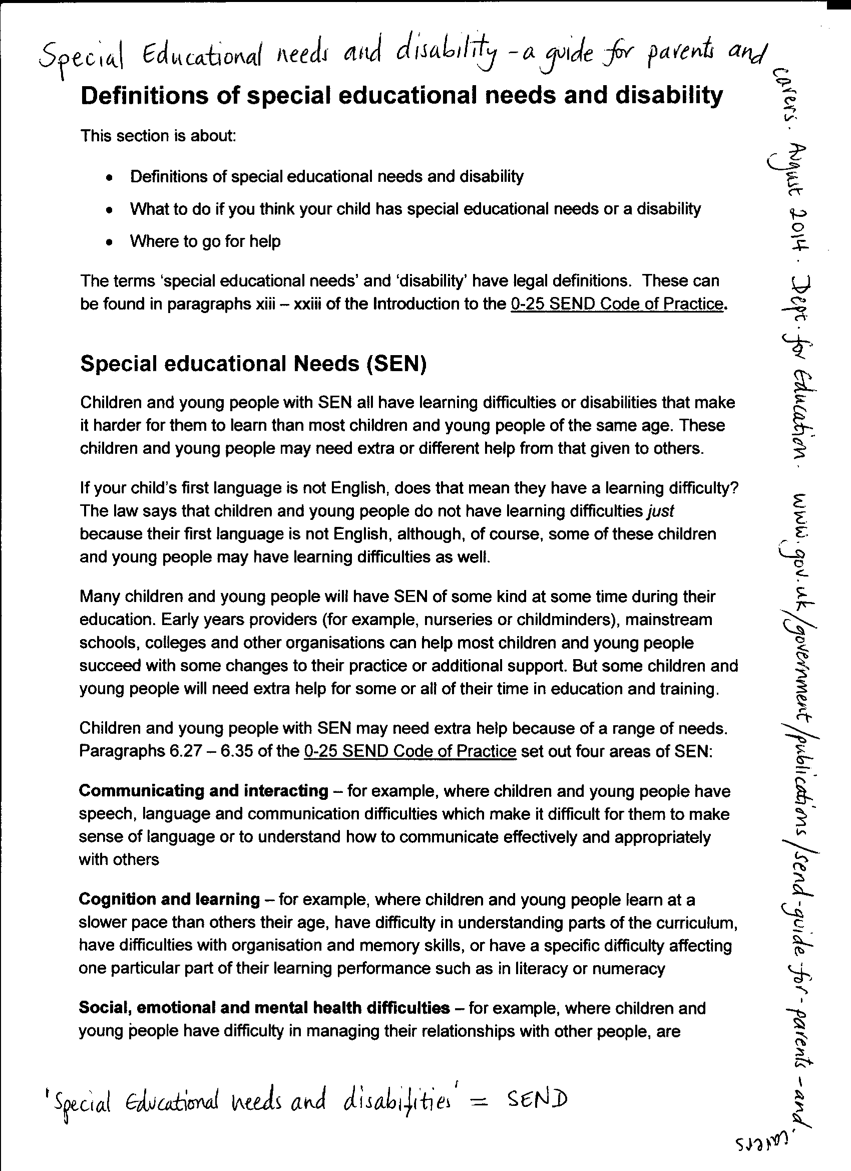 page 1 sen doc (extract)